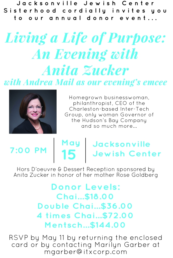 Sisterhood Donor Event Invite