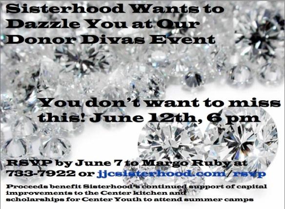 Don't miss Donor Divas!