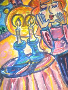 woman shabbat